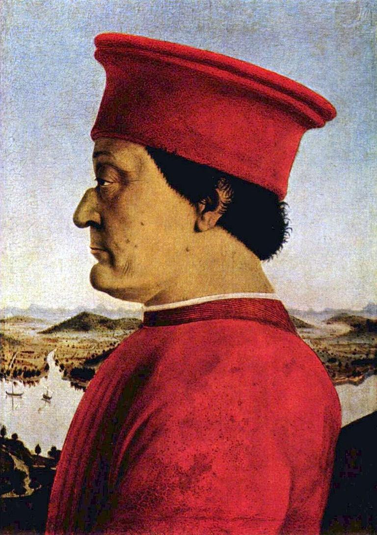 Federico da Montefeltro by Piero della Francesca | © Kjetilr/WikiCommons