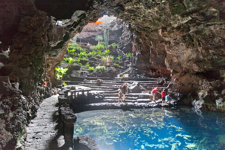 Jameos del Agua, Lanzarote, Spain | © Lmbuga / Wiki Commons