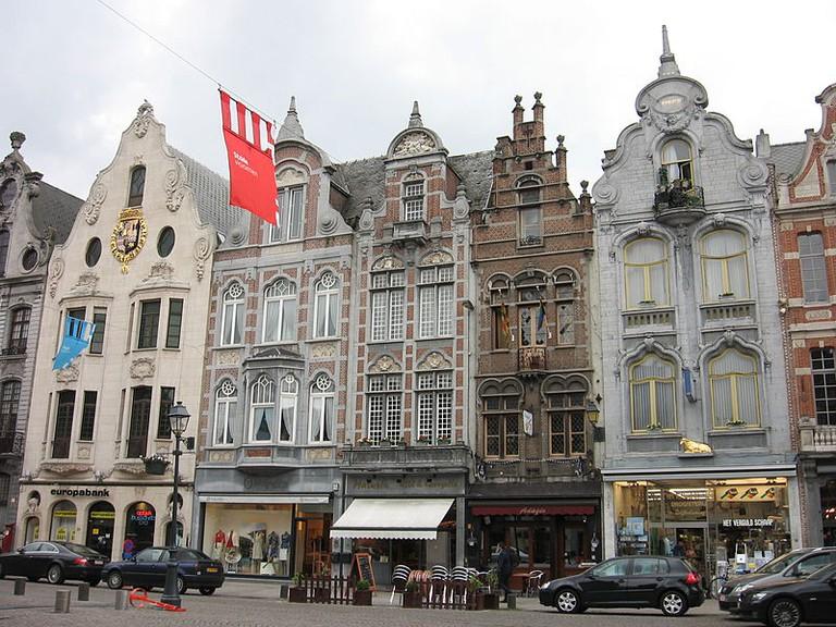 Gevels aan IJzerenleen, Mechelen|© Michiel1972/Wikimedia Commons