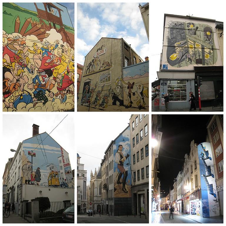Comics Murals ©Suedehead/Flickr