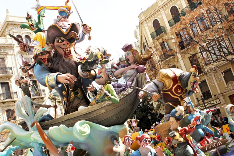 Wood figures (Fallas de Valencia)