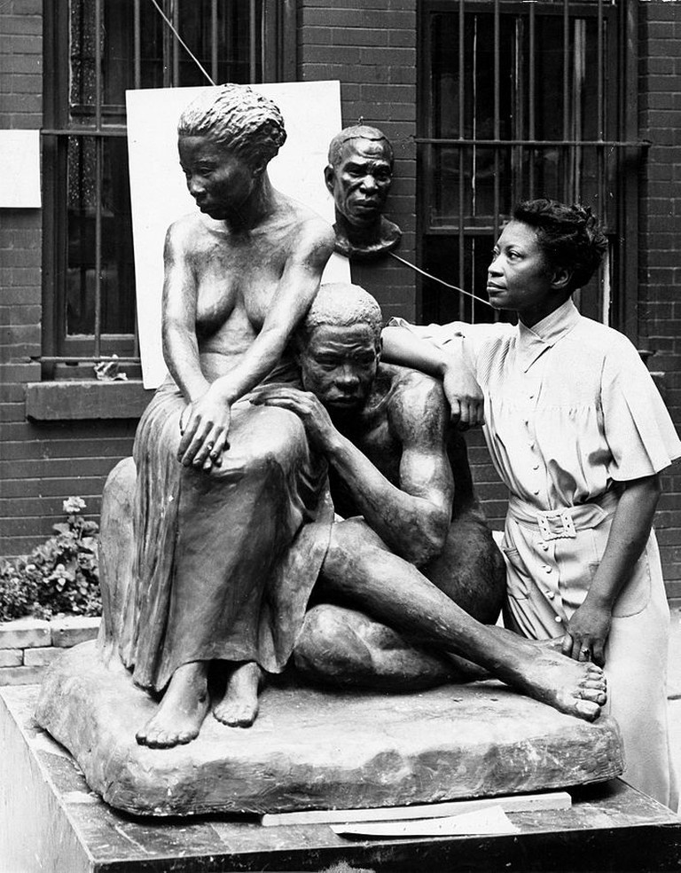 - [Augusta Savage], ca. 1938 : Andrew Herman, photographer