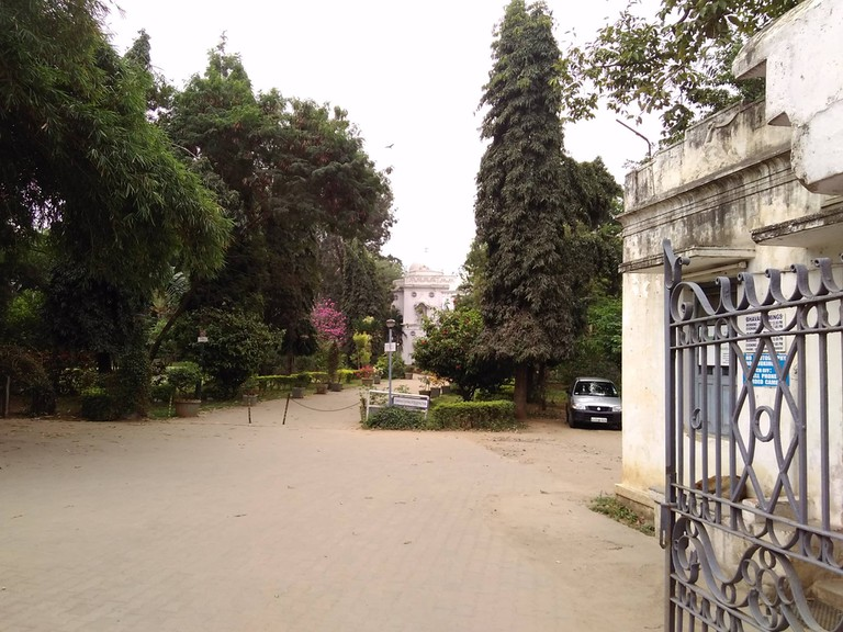 The erstwhile summer palace of Nepal royals now  the Aurobindo sSociety