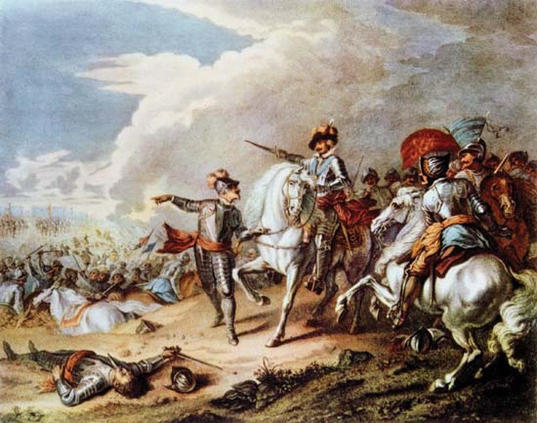 The victory of the Parliamentarian New Model Army over the Royalist Army at the Battle of Naseby on 14 June 1645 marked the decisive turning point in the English Civil War