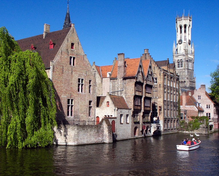 Romantic and charming canals of Bruges | ©Wikimedia