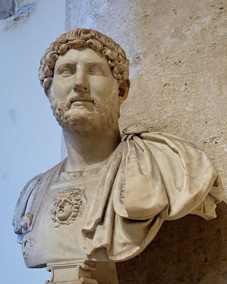 Bust of Hadrian   © Marie-Lan Nguyen/Wikicommons