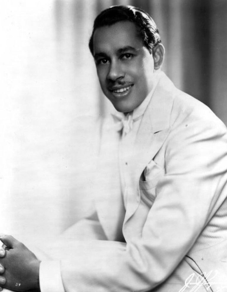 Publicity photo of Cab Calloway| © Mills Artists; photographer: James Kriegsmann, New York/wikicommons