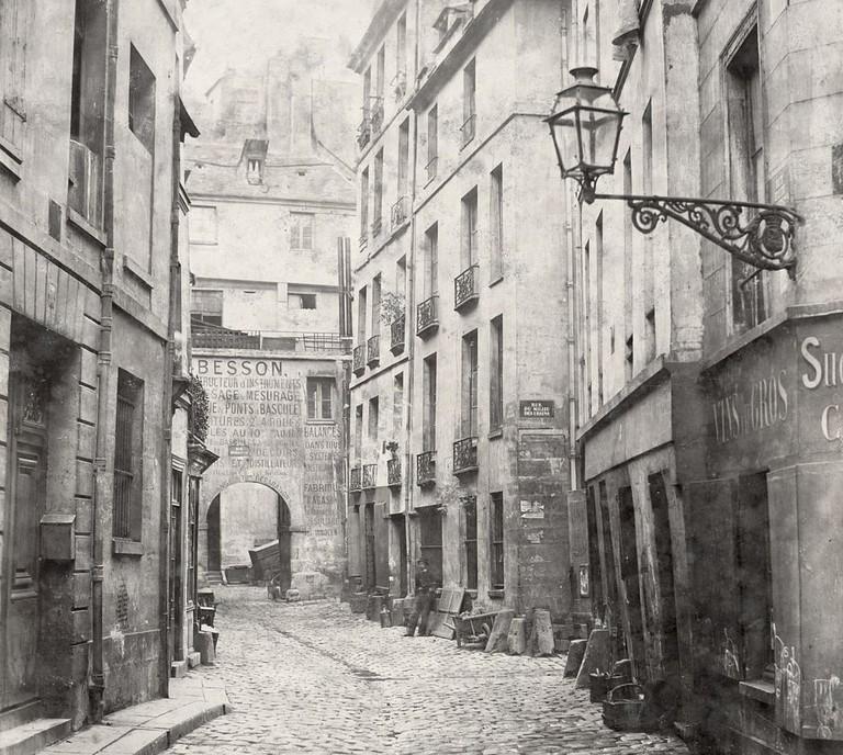 Île de la Cité in the mid-19th century, before Baron Haussmann | © WikiCommons