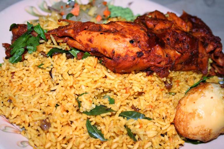Sri Lankan Chicken Biryani | © Shehal/WikiCommons