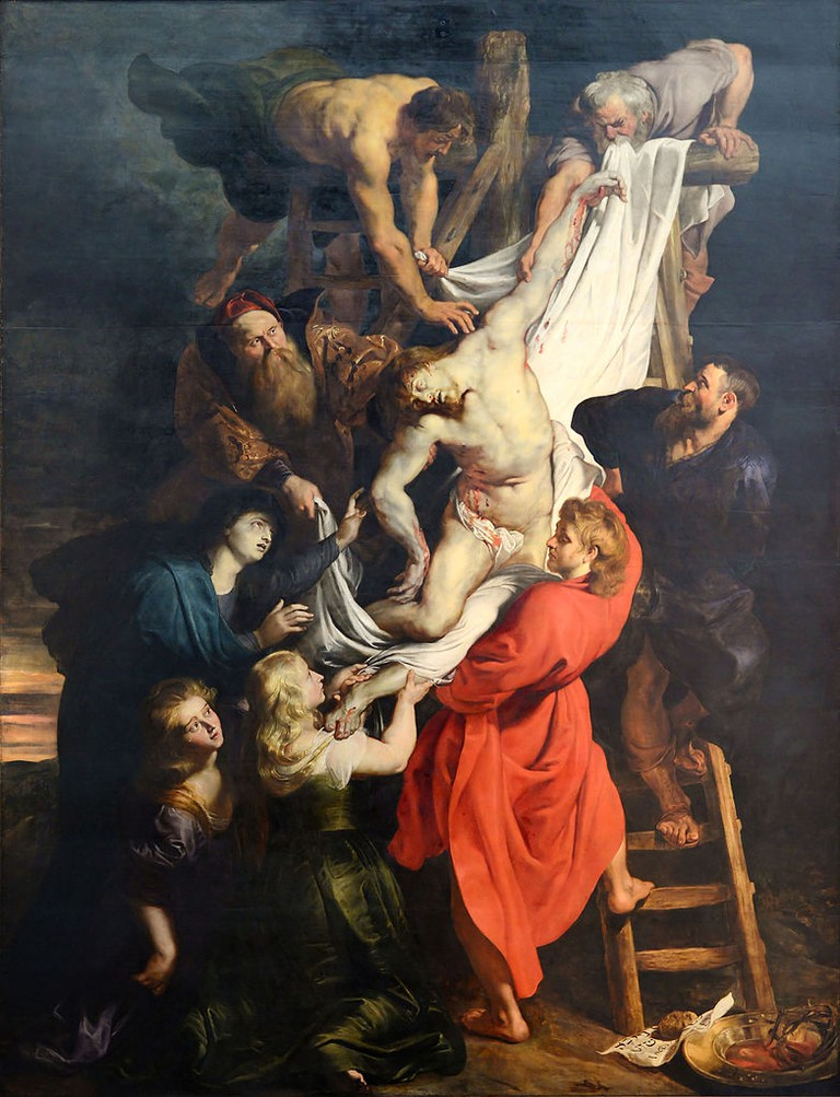 Peter Paul Rubens, The Descent from the Cross, Cathedral of Our Lady, c. 1611-1614 | © Alvesgaspar/WikiCommons
