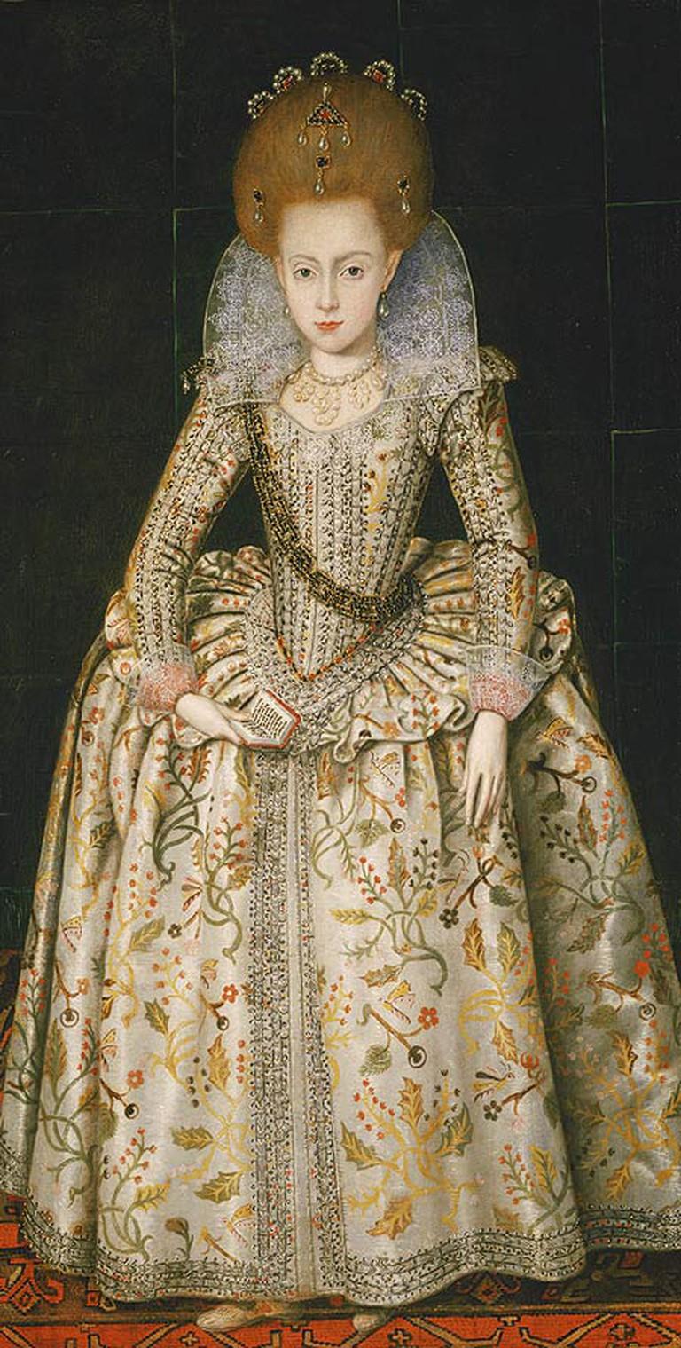 Elizabeth Stuart, later Queen of Bohemia|© Robert Peake/WikiCommons