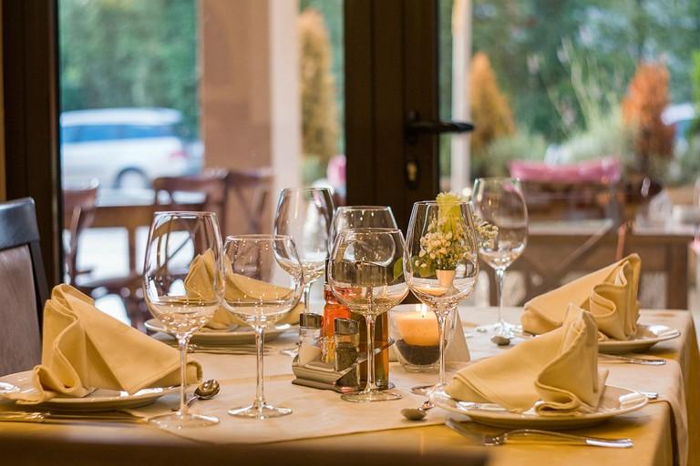 Fine dining, anyone?