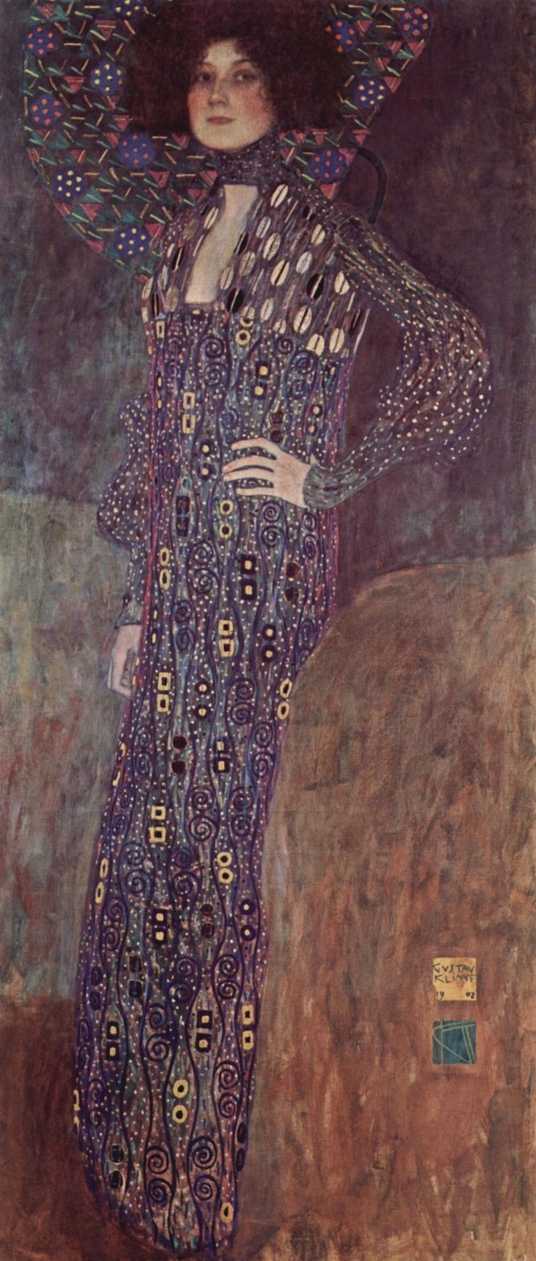 Gustav Klimt, Emilie Flöge, 1902