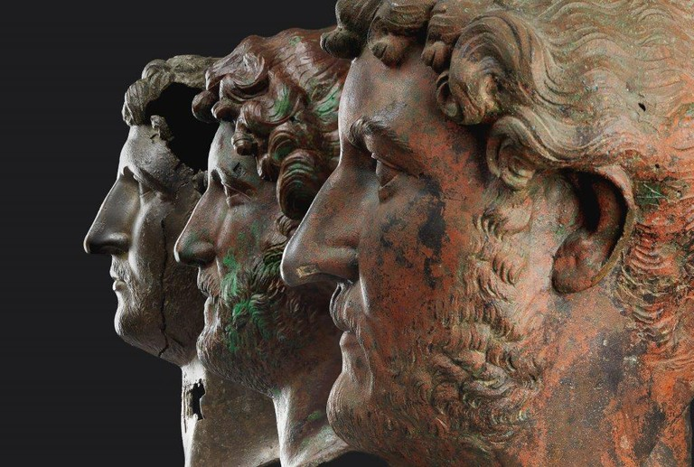 Three Heads of Hadrian