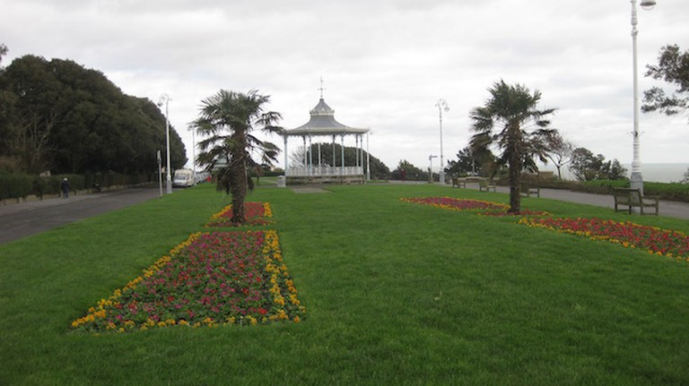 The Leas Bandstand, facing east | © Kate Jefford