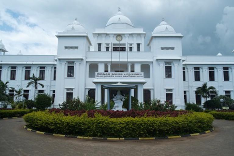 Jaffna library courtesy of FabiansTravels.net