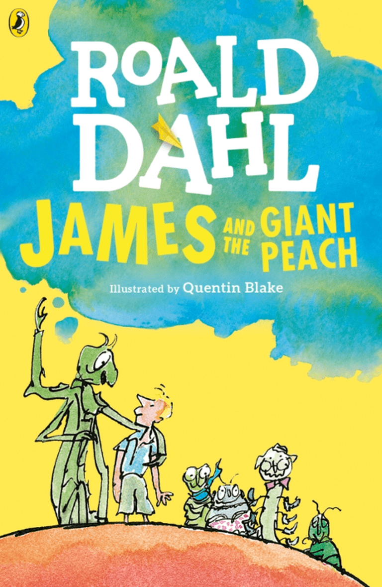 James and the Giant Peach illustration by Quentin Blake / ©Penguin