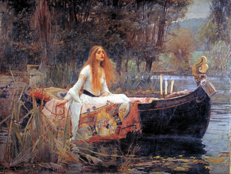 Figure 3, The Lady of Shalott by John William Waterhouse at Tate Britain, 1888 | © DcoetzeeBot/WikiCommons