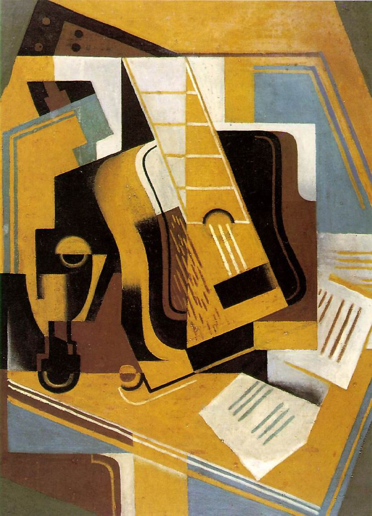 La Guitarra by Juan Gris