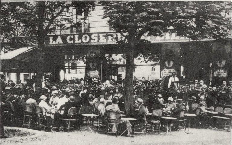 La Closerie des Lilas, 1909|© WikiCommons