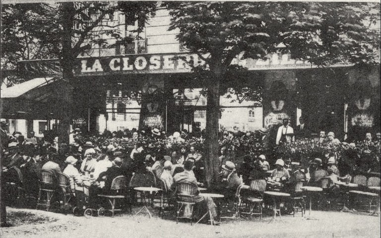 La Closerie des Lilas, 1909