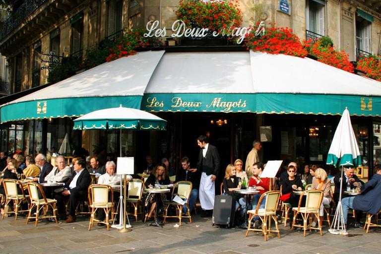 Les Deux Magots Café|© WikiCommons