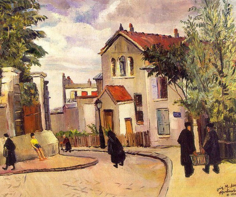 Lois Mailou Jones- The Butte Montmartre