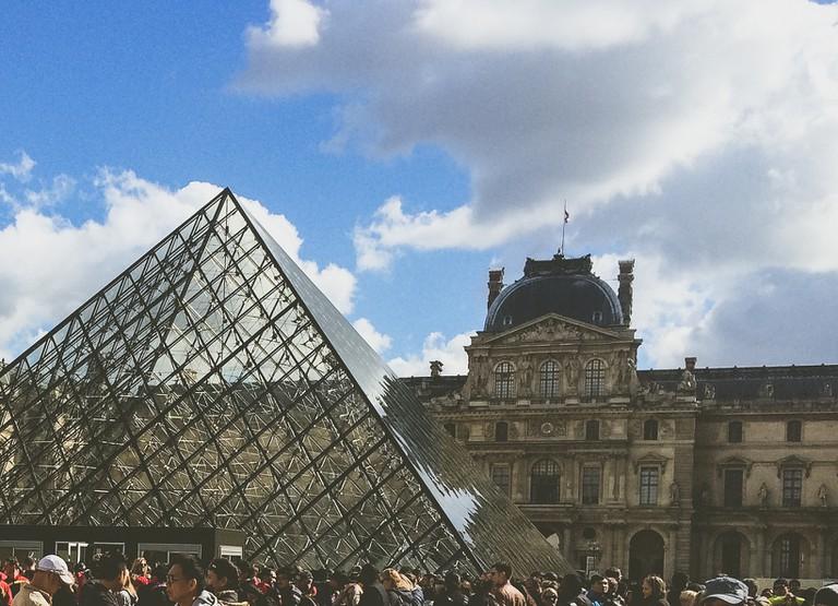 The Louvre: Pyramid & Palace | ©Whitney Donaldson