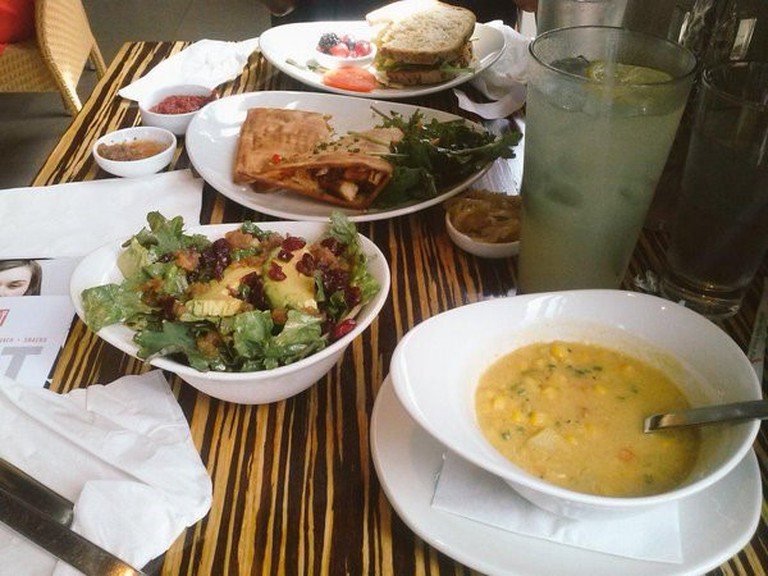 Lunches at Lyfe Kitchen