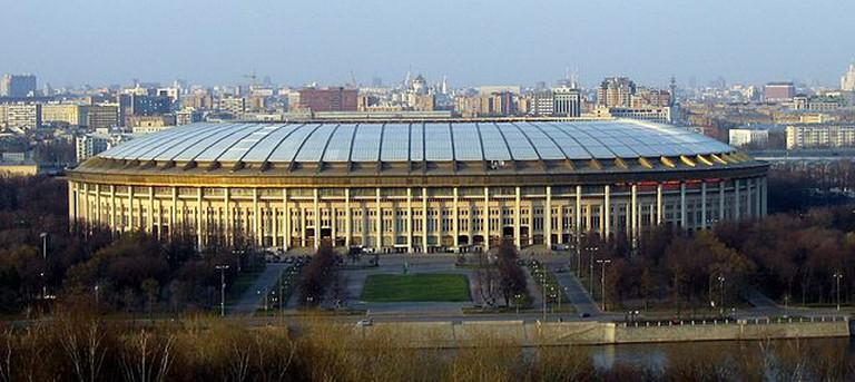Luzhniki Stadium Moscow | © Kucharek/Wikicommons