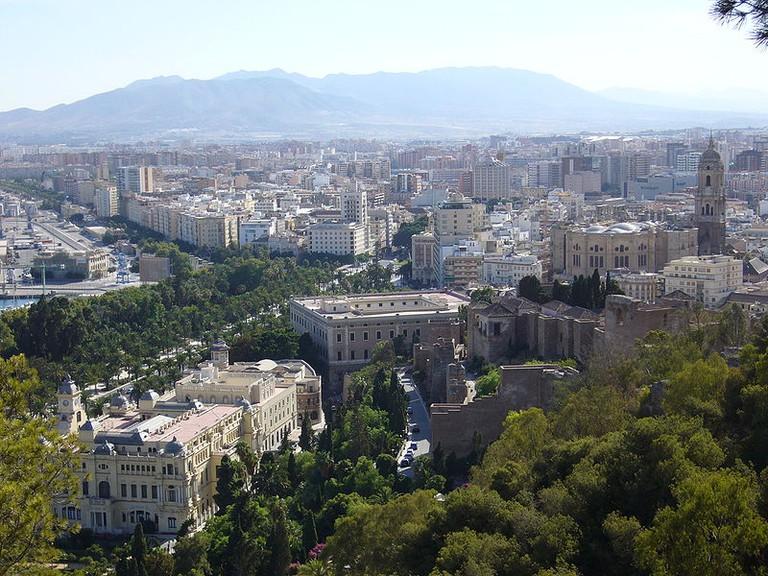 Málaga © Agapito/WikiCommons