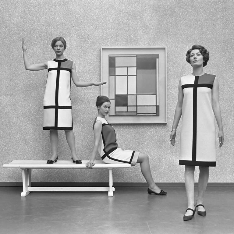 Mondrian dress by Yves Saint Laurent, 1965