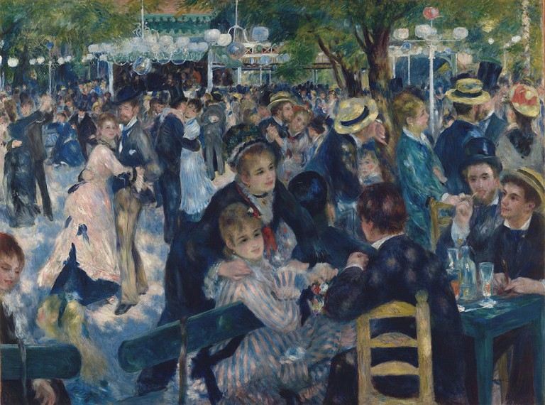 Dance at the Moulin de la Galette, 1876