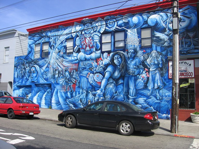 Mural @ York and 24th, Mission District San Franciso © Patrick McCully/Flickr