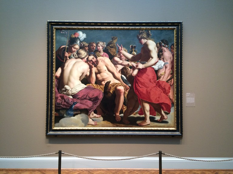 Jupiter Rebuked by Venus Painting | Mahwesh Fatima