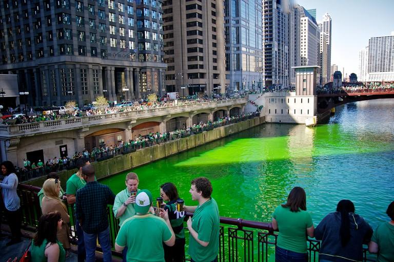 St. Patrick's Day in Chicago | © Max Talbot-Minkin/Flickr