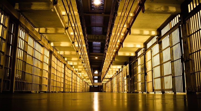 Alcatraz Cell Block © Sean Hobson/Flickr
