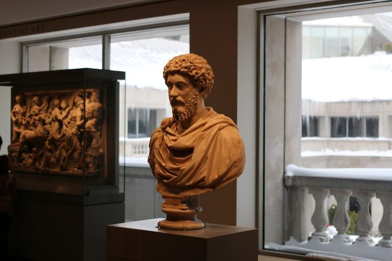 Portrait bust of Marcus Aurelius, Art Institute, Chicago | © Ryan Baumann/Flickr
