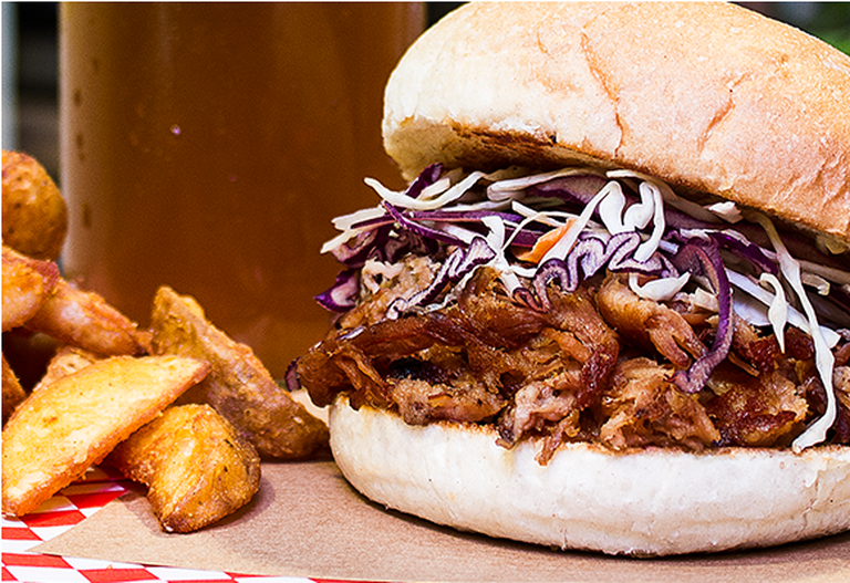 Pulled pork burger | Courtesy of Chivuo's