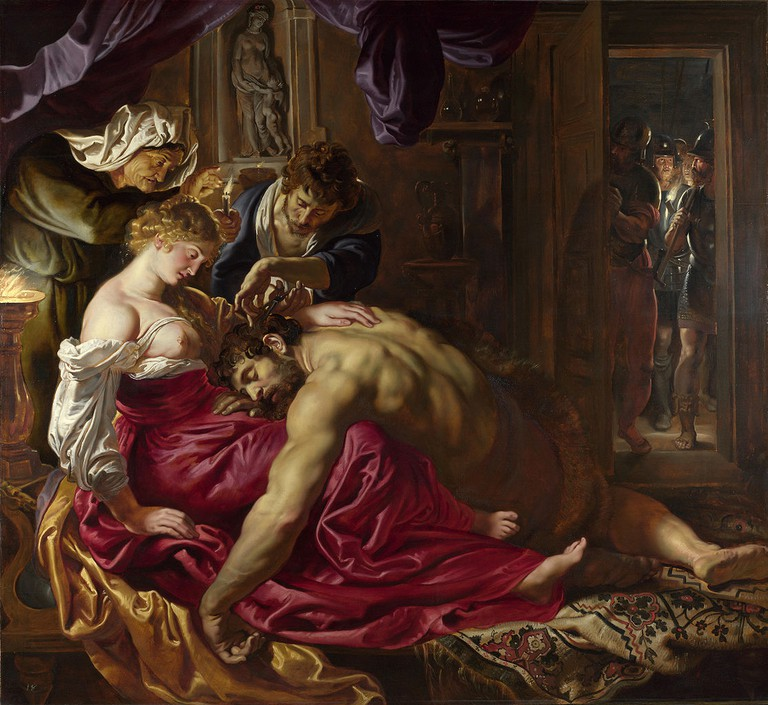 Peter Paul Rubens, Samson and Delilah, 185 x 205 cm, The National Gallery, c. 1609-1610 | © Arts639/WikiCommons