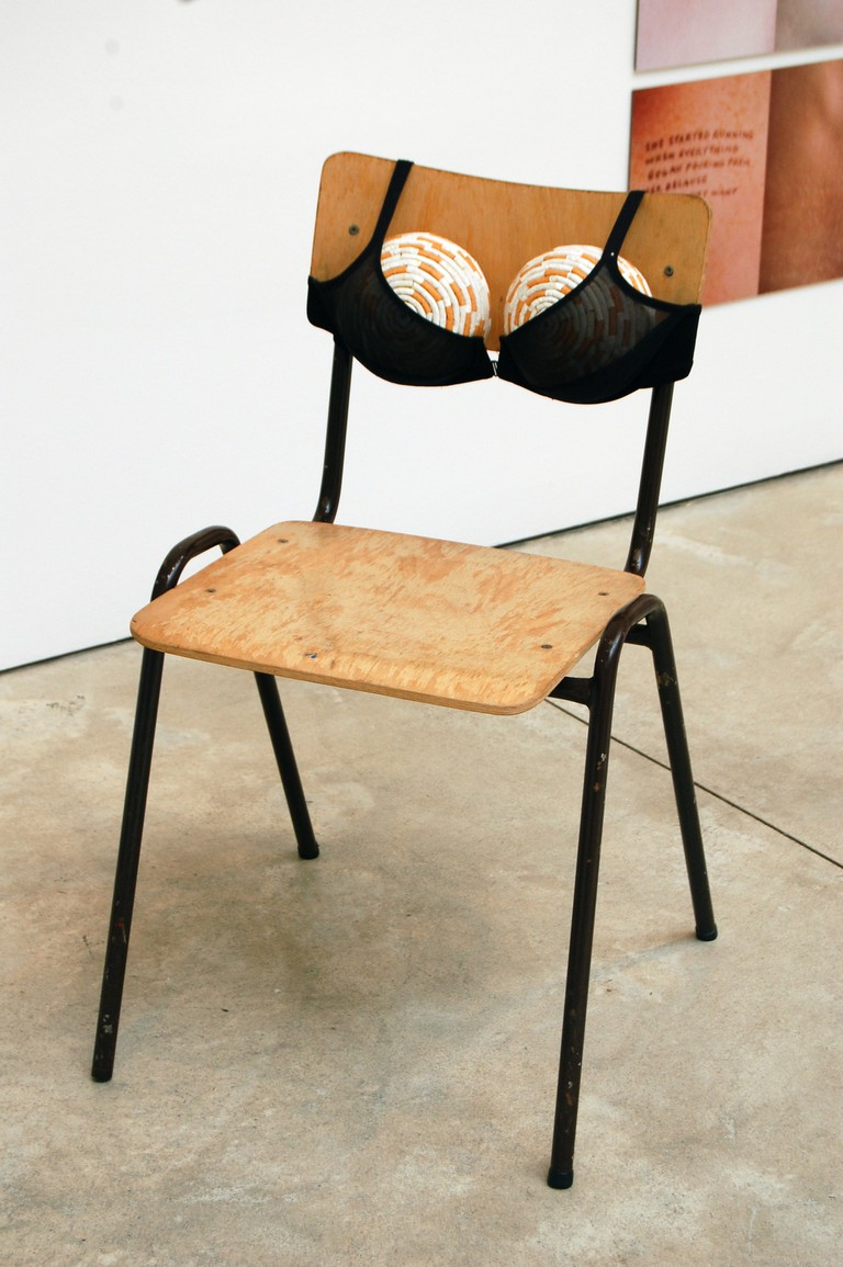 'Cigarette Tits (Idealized Smokers Chest II)' by Sarah Lucas © JMiall/WikiCommons