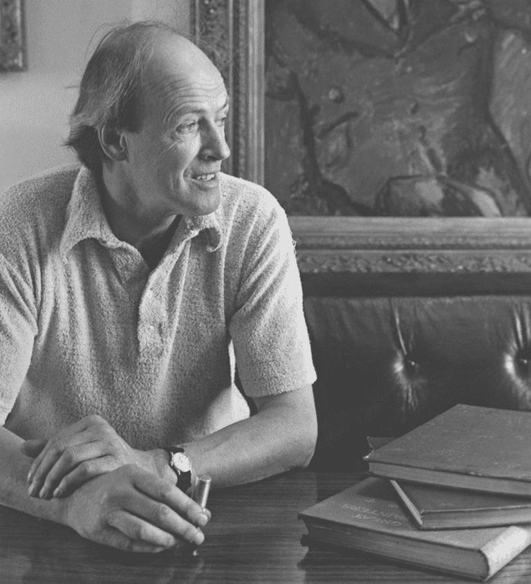 Roald Dahl | Courtesy of the Roald Dahl Literary Estate