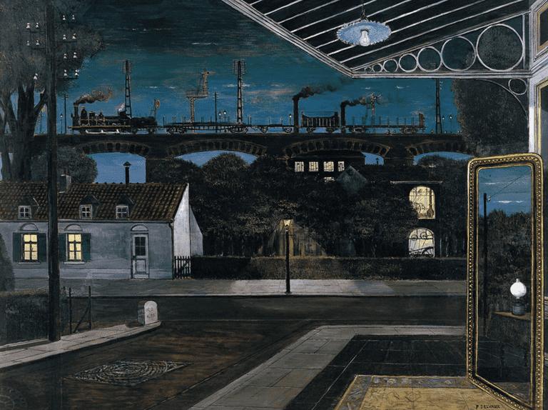 Paul Delvaux – The Viaduct