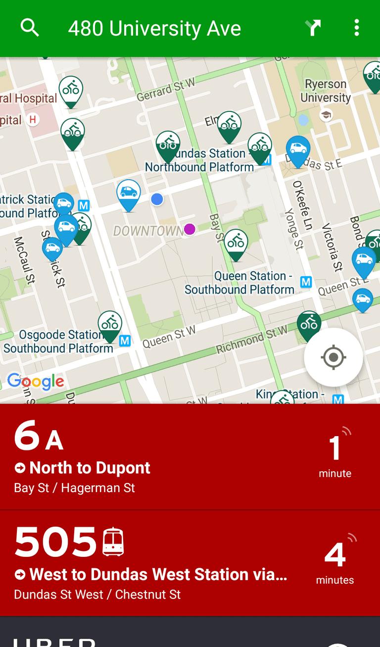Transit App | © Transit App