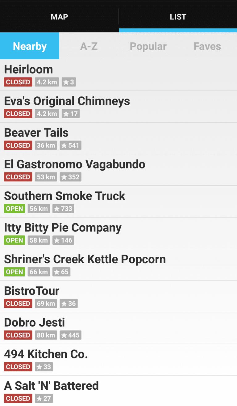 Street Food Toronto App | © Street Food Toronto