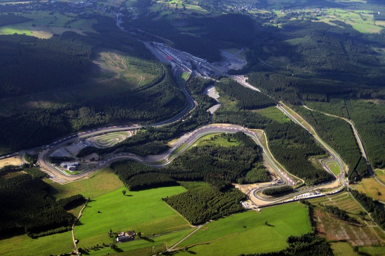 Spa-Francorchamps track/©Nathanael Majoros /WikiCommons