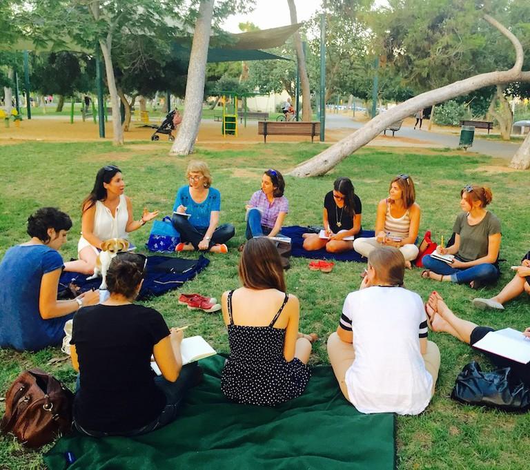 Travel Writing Workshop in Tel Aviv Courtesy of Pink Pangea