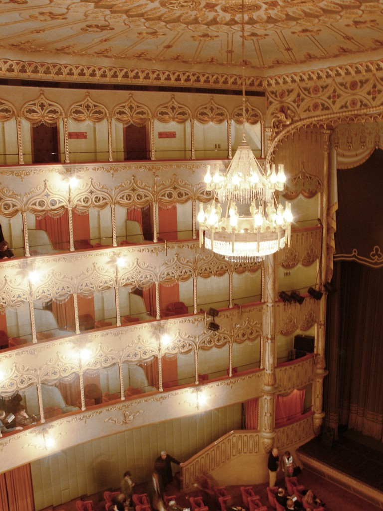 Interior of the Teatro Vendramin, now Teatro Goldoni, Venice | © Andreas Praefcke/WikiCommons