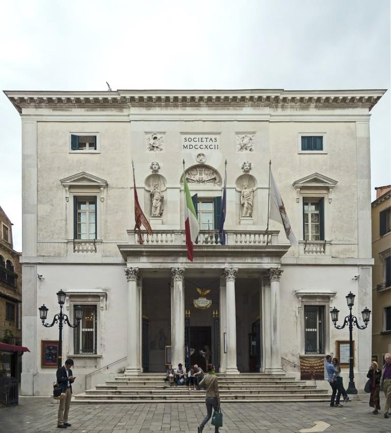 Teatro La Fenice, Venice, the facade