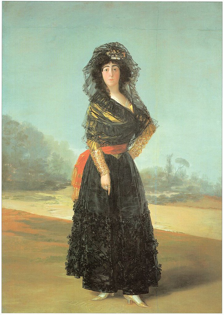 Francisco Goya, The Duchess of Alba, 210.2 x 149.2 cm, 1797, The Hispanic Society of America | © Jojagal/WikiCommons